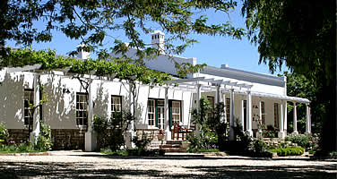Schanskraal Country Manor exterior