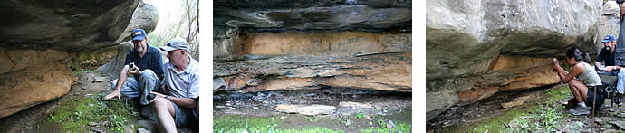 San rock art tours at Schanskraal